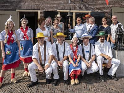 Kaasmarkt alkmaar Piet Verweel